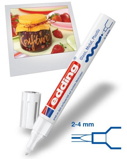 Универсальный лаковый маркер (маркер-краска) E-750